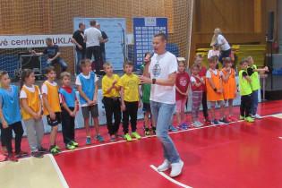 Športový deň O2 Športovej akadémie Mateja Tótha a Slovenskej sporiteľne v Banskej Bystrici