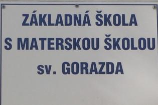 Odovzdávanie grantu na ZŠ sv. Gorazda v Nitre