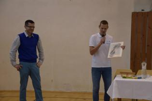 Odovzdávanie grantu na ZŠ s MŠ sv. Kríža, Petržalská 21 v Kežmarku