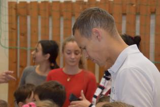 Odovzdávanie grantu na ZŠ s MŠ sv. kríža v Kežmarku