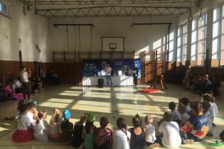 Odovzdávanie grantu na ZŠ Banská Belá