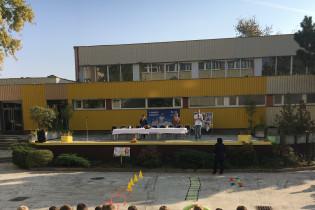 Odovzdávanie grantu na ZŠ Kysucká 14 v Senci