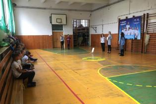 Odovzdávanie grantu na ZŠ M.R.Štefánika v Lučenci