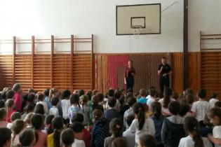 Matej Tóth na Spojenej škole sv. Vincenta de Paul v Bratislave.