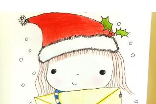 Predstavujeme Vám víťaza súťaže o kresbu vianočného pozdravu :)